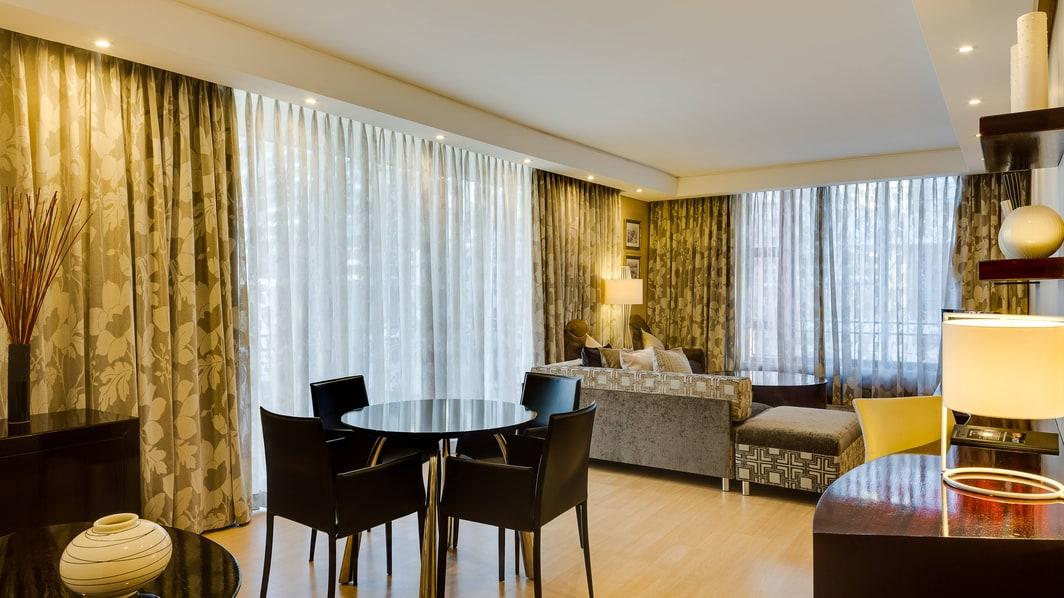 1ベッドルームのアパートメント