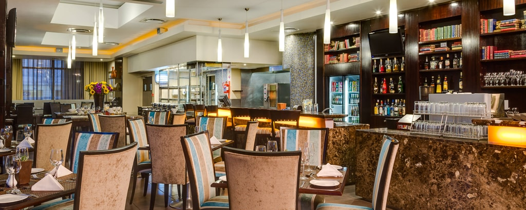 Hauseigenes Restaurant des North Wharf Hotels