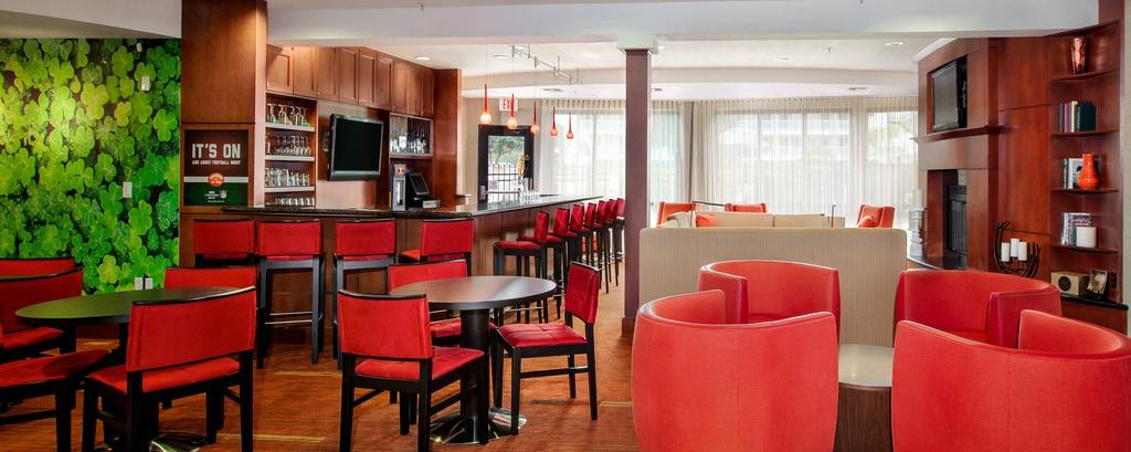 コーパスクリスティのホテルのロビーラウンジ