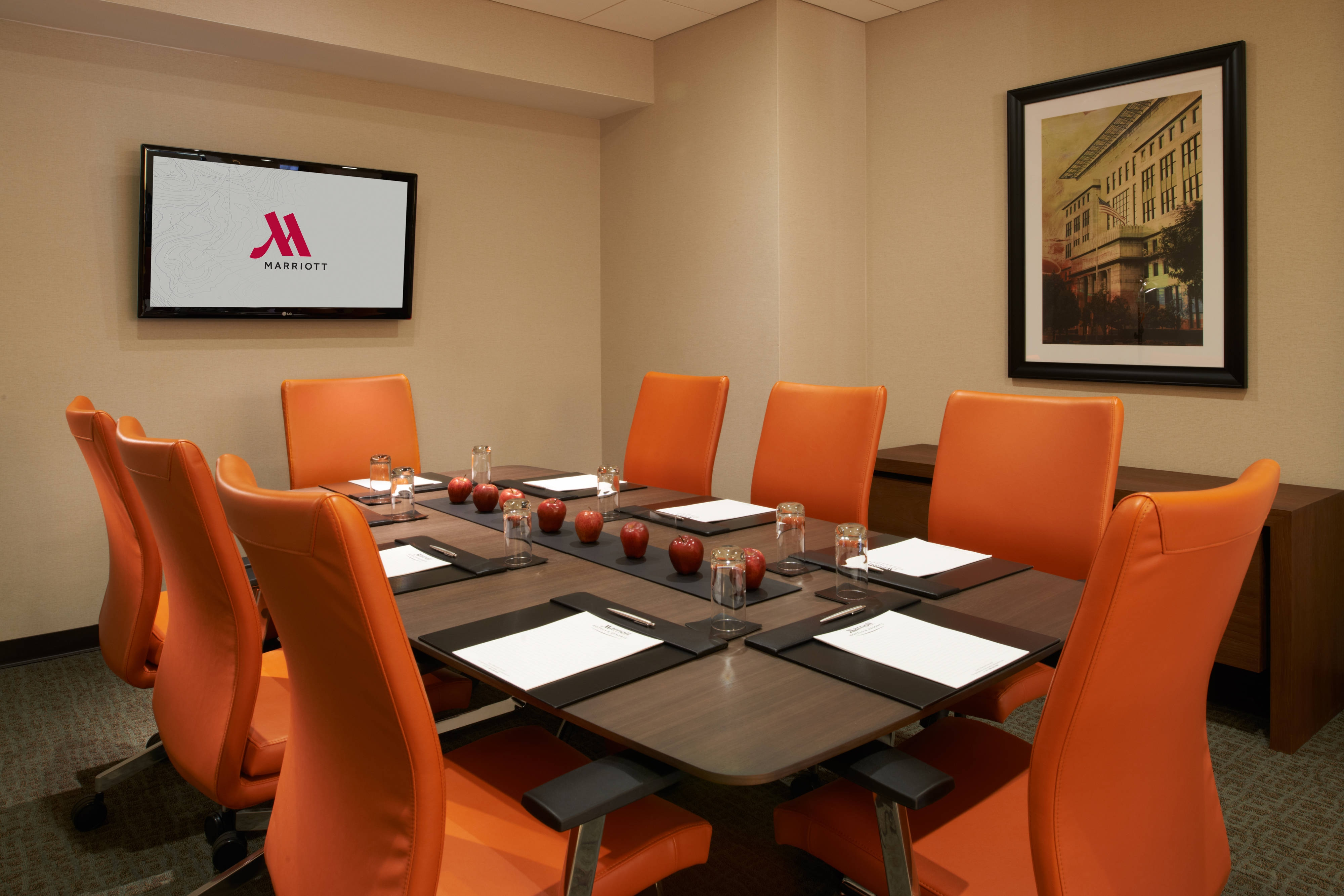 Charleston Hotel Boardroom