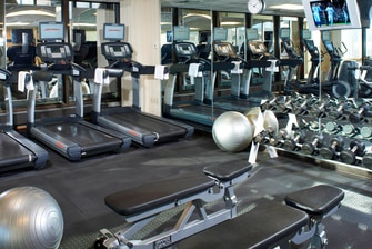 South Charleston Hotel Fitness Center