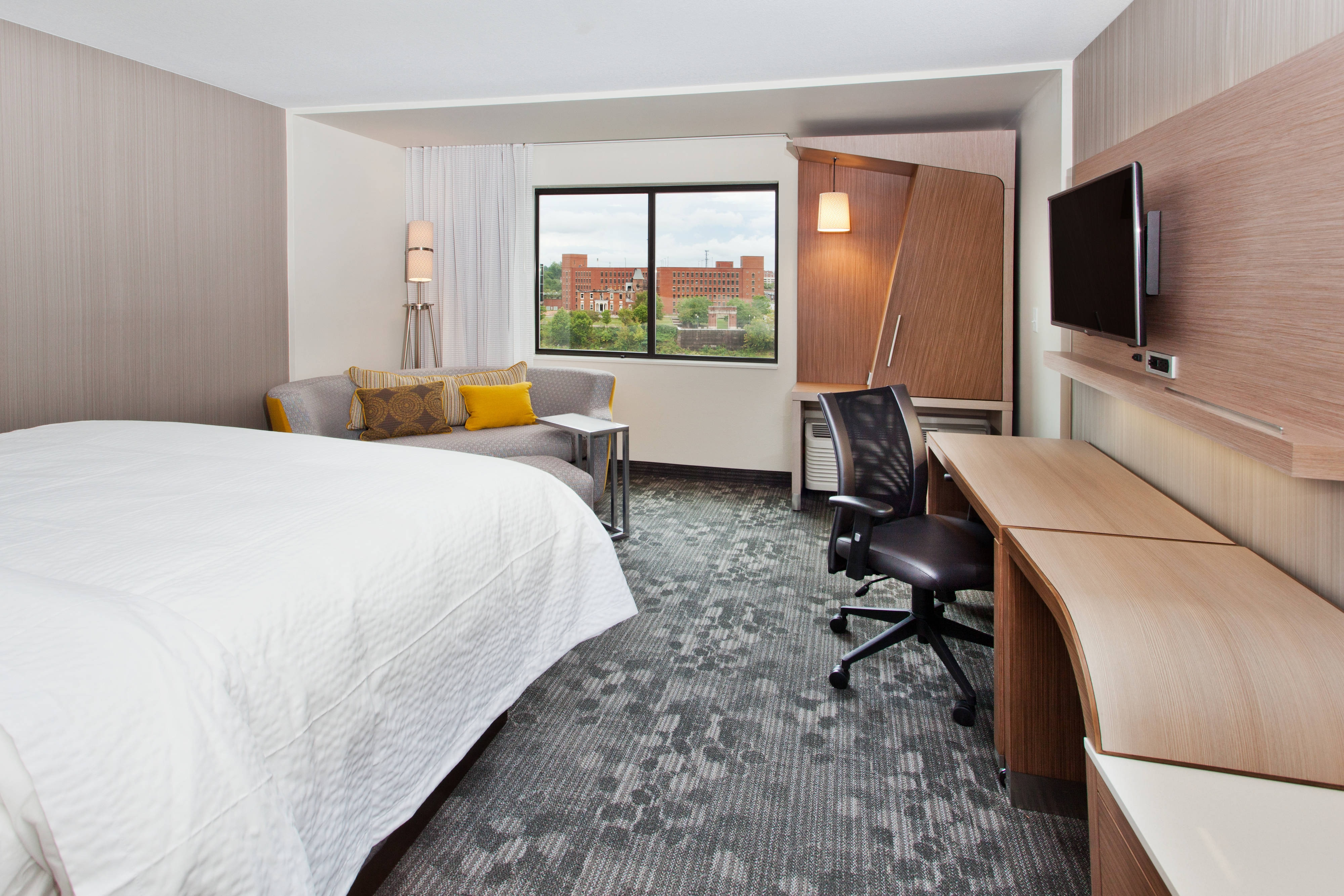 Phenix City Hotel Guest Room