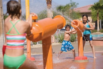 Palm Desert Resort Water Playground