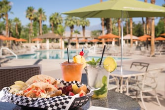 Poolside Dining