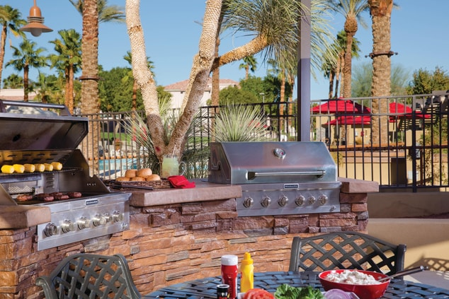 Grill and BBQ Area