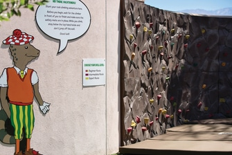 The Shade Rock Climbing Wall