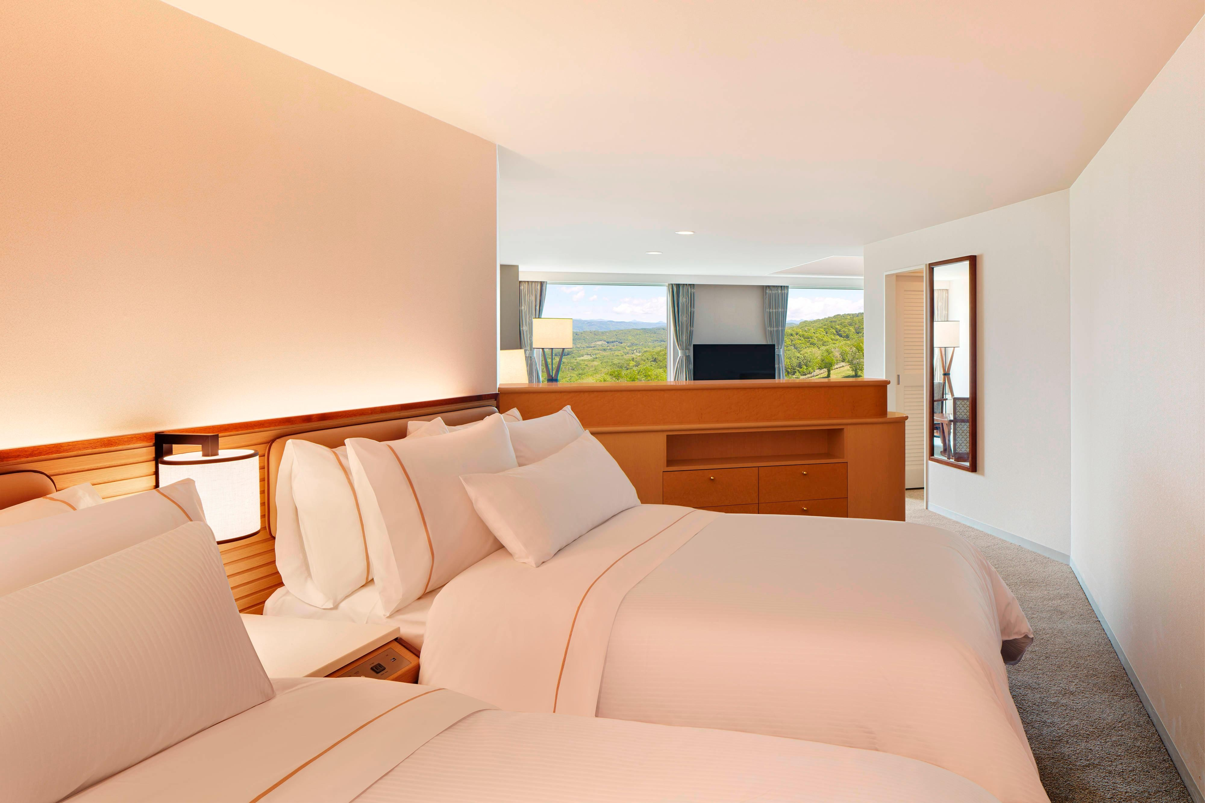 Guest Room - Four Single Beds