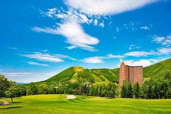 夏のゴルフコース