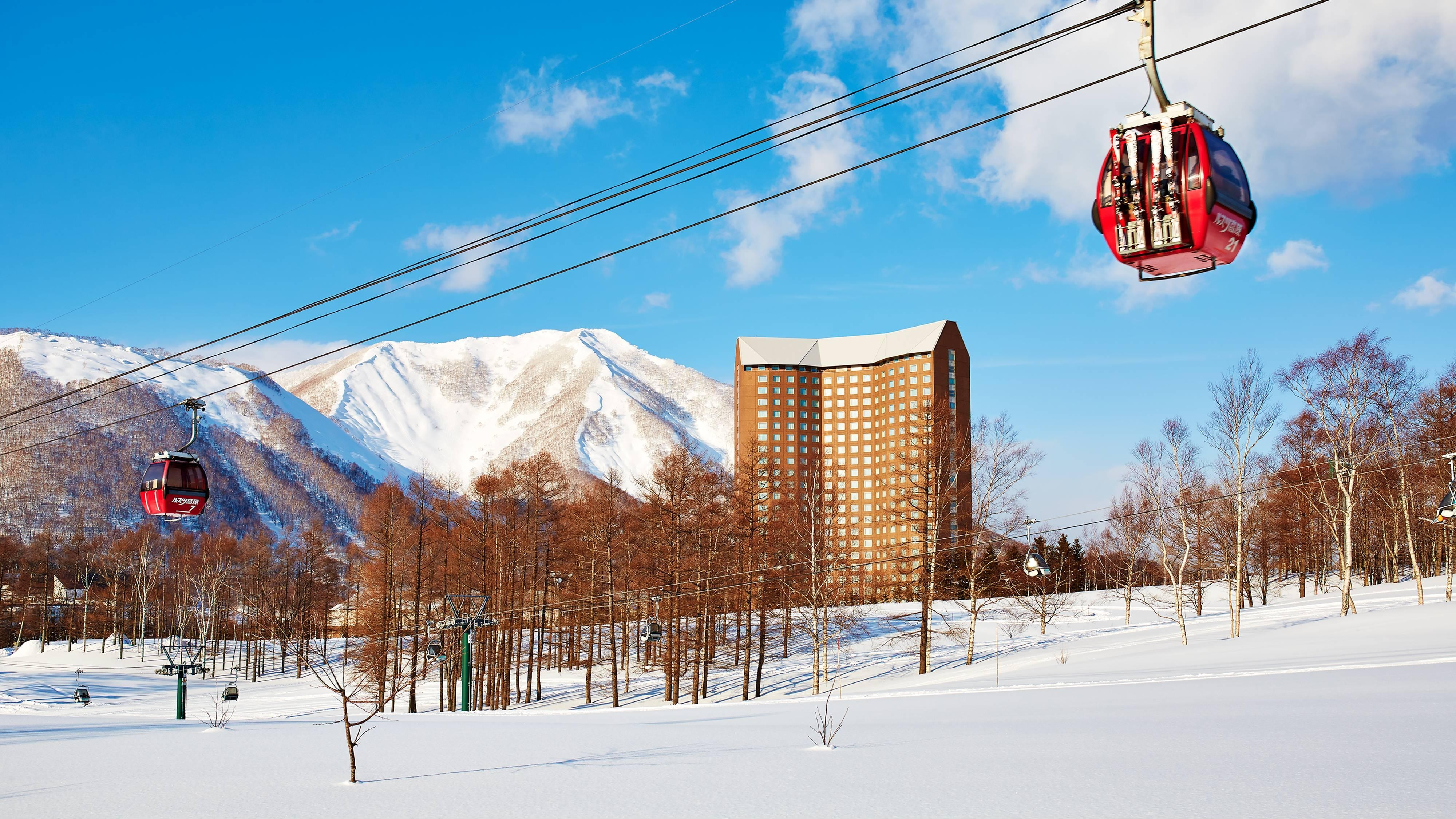 Exterior Ski Gondola