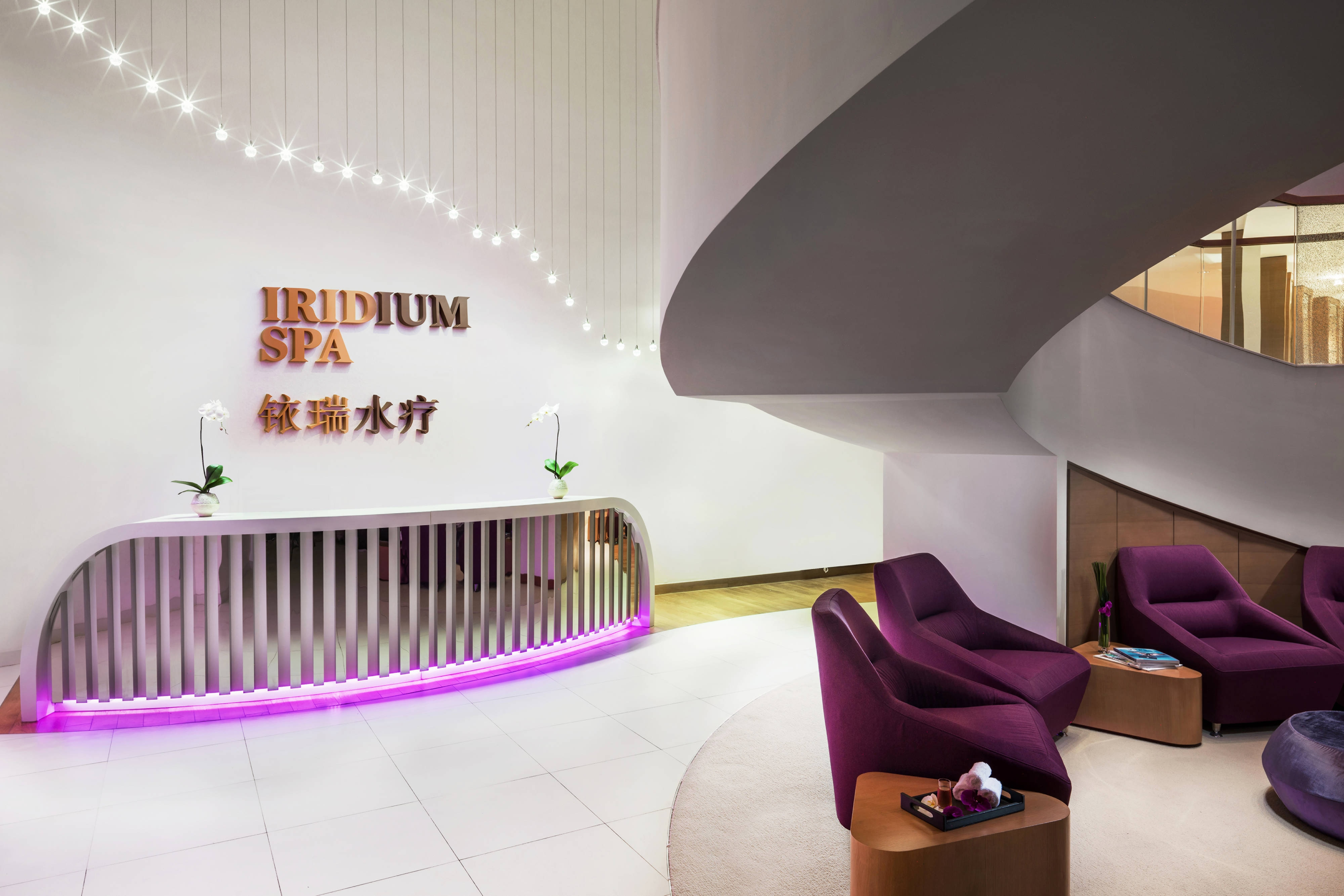 Iridium Spa - Reception