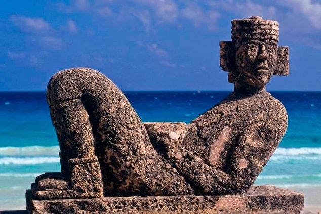 Chac Mol Mayan God