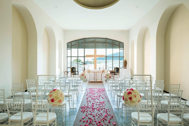 Cancun Beach Wedding Chapel