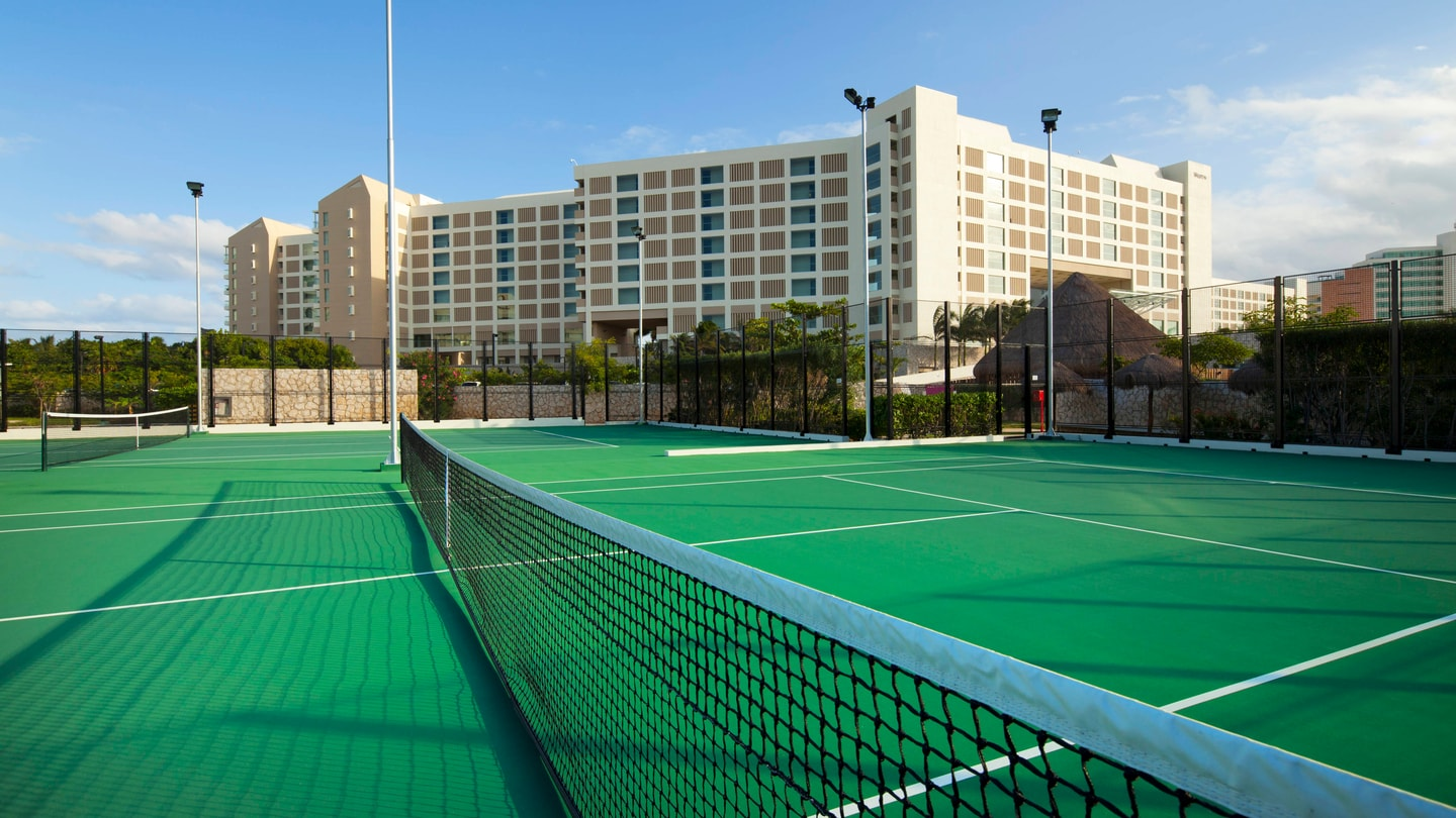 Tennis Courts Resort amenities subject to change