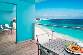 Two-Bedroom Villa Balcony