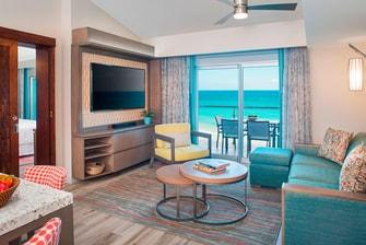 Two-Bedroom Villa Living Area