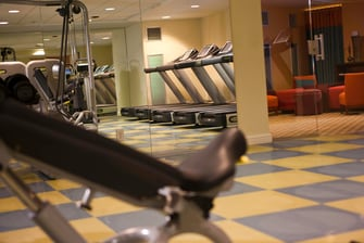 Fitness Center in Curacao Hotel