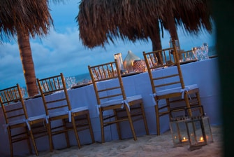 Curacao Outdoor Private Dining Area