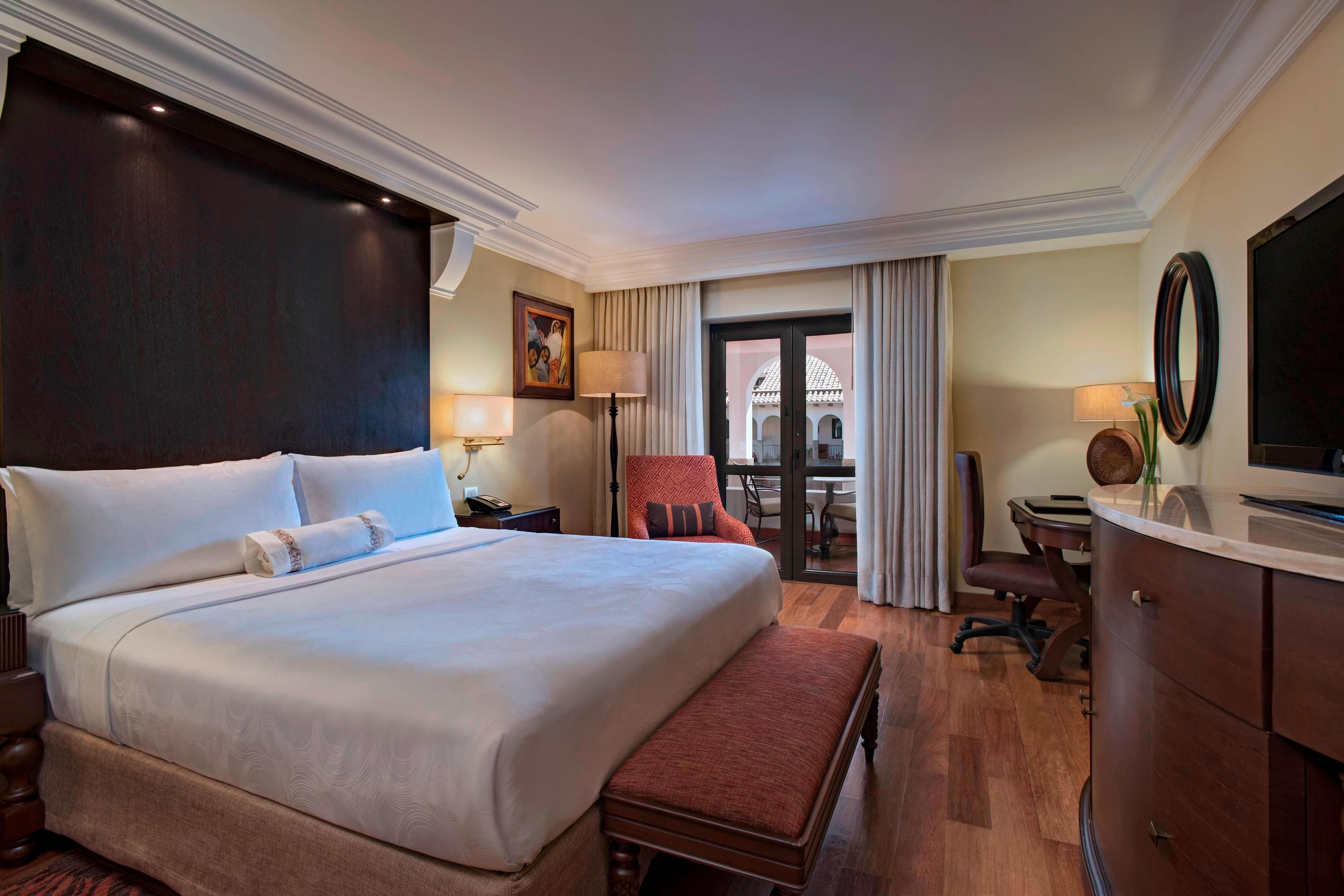 King Courtyard Terrace Guest Room