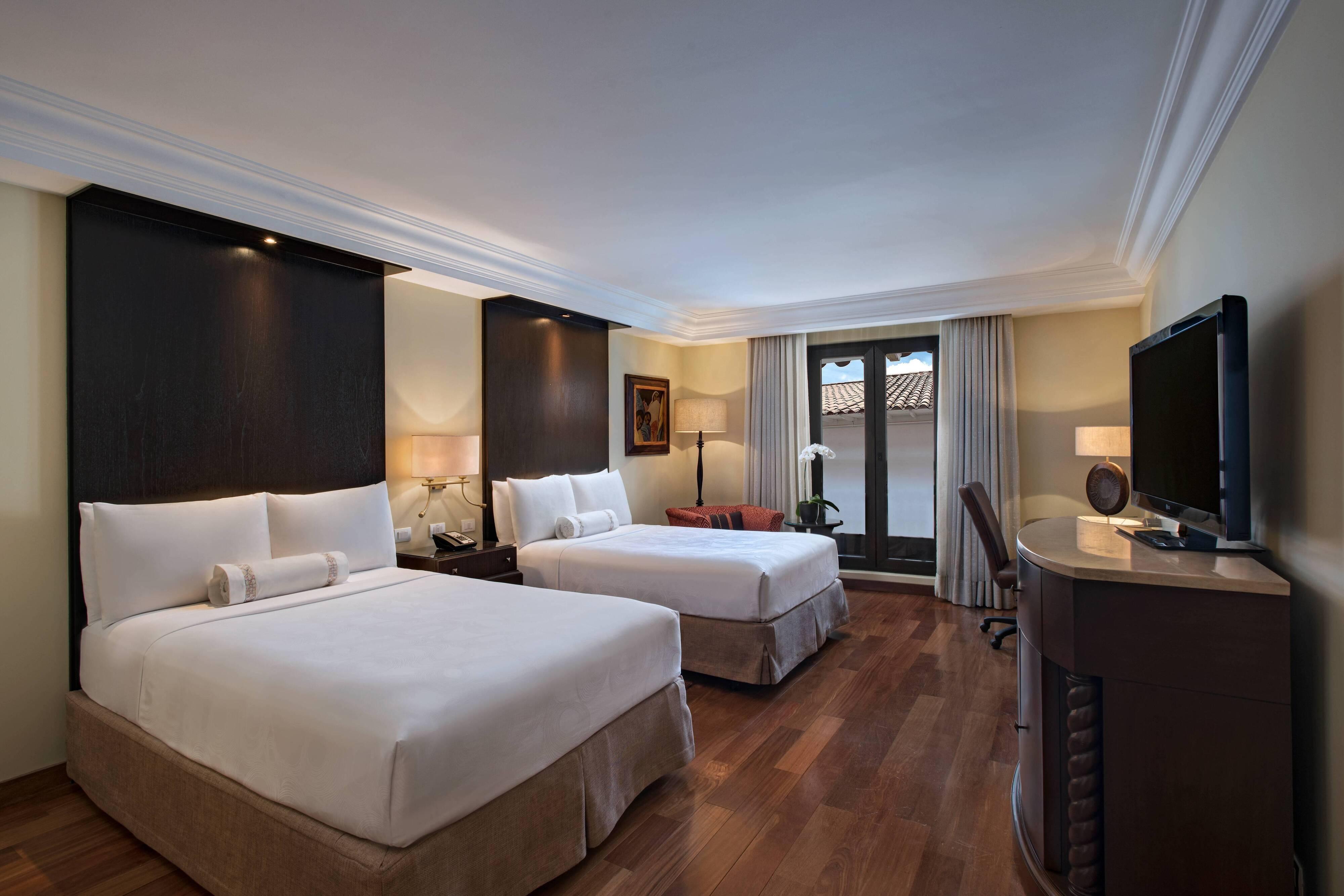 Chambre classique Inca à deux lits doubles