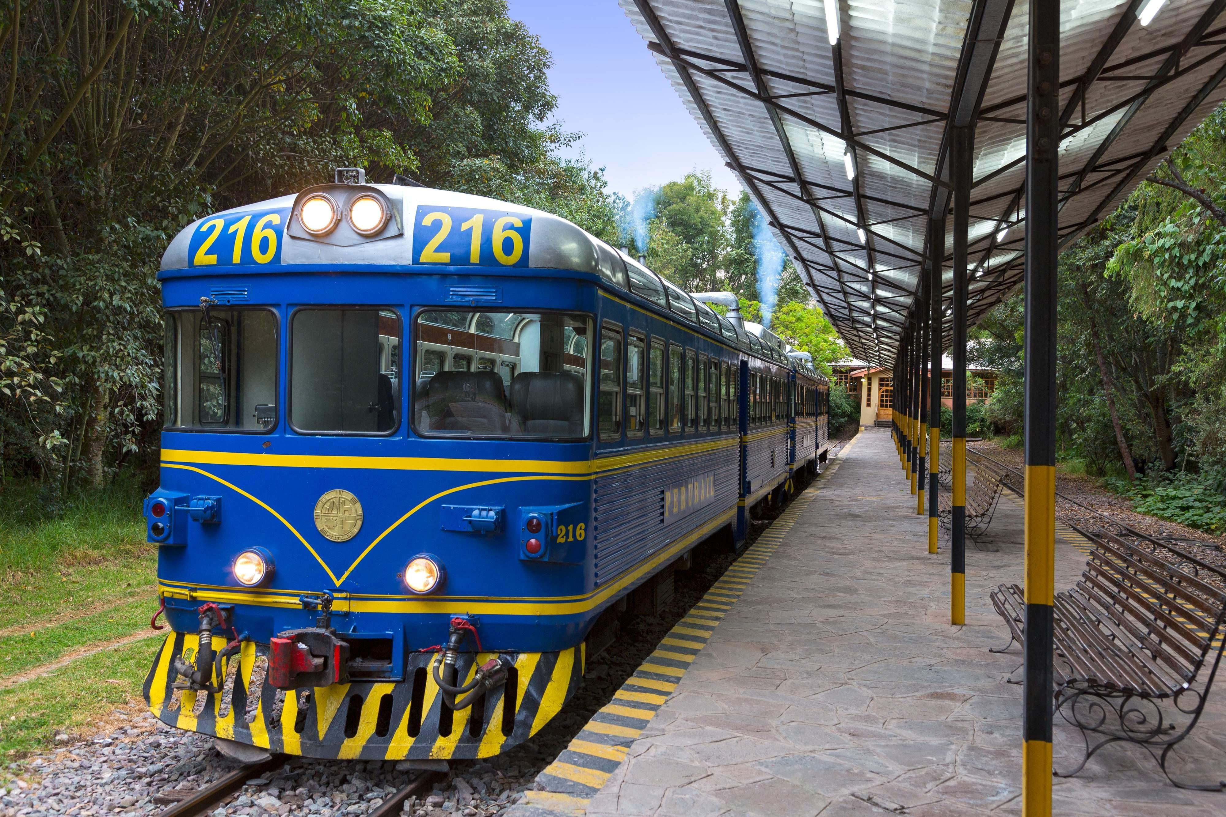 Private Train Station