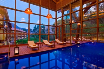 Swimming Pool - inside Spa