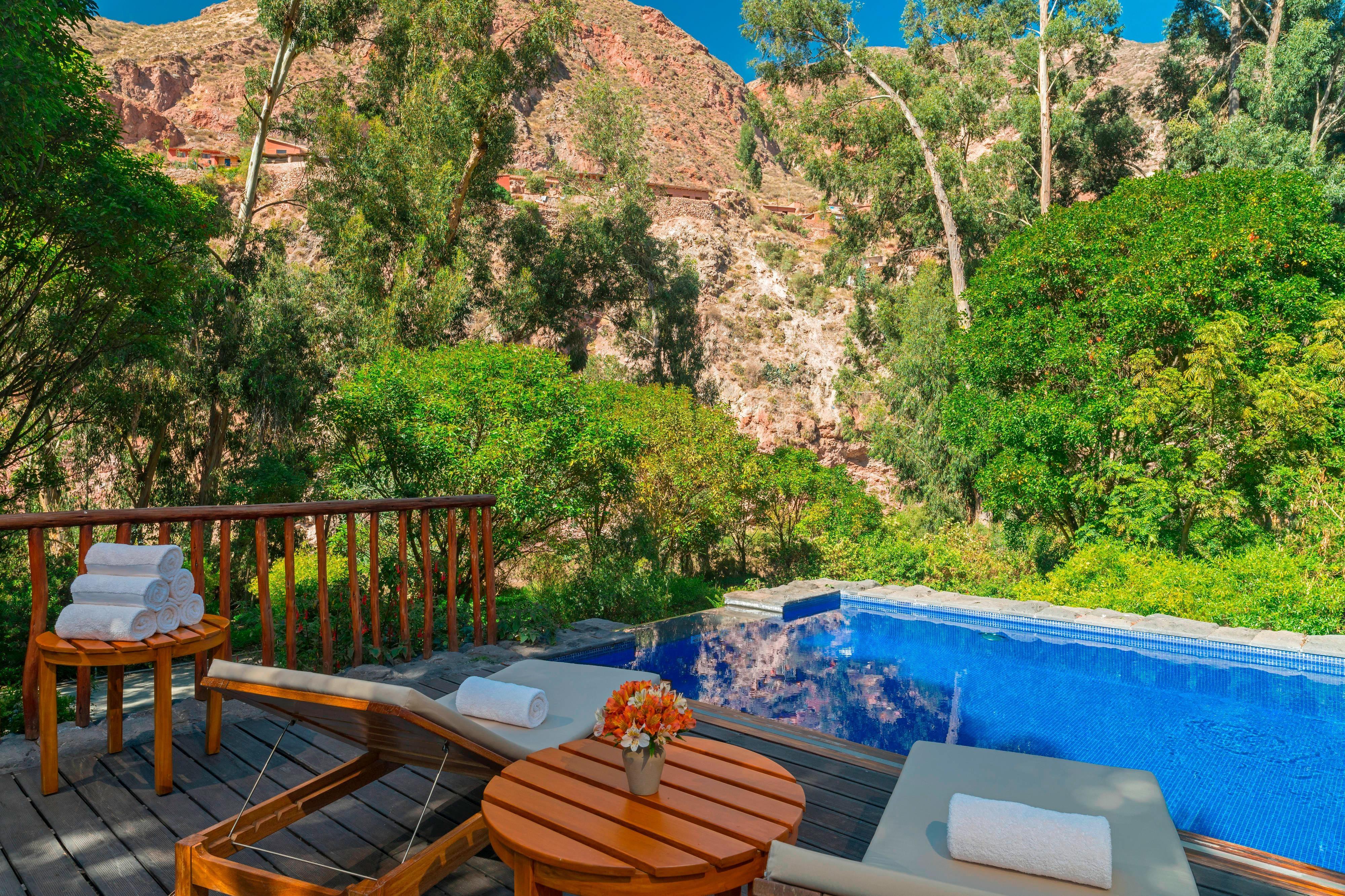 Outdoor Pool Terrace