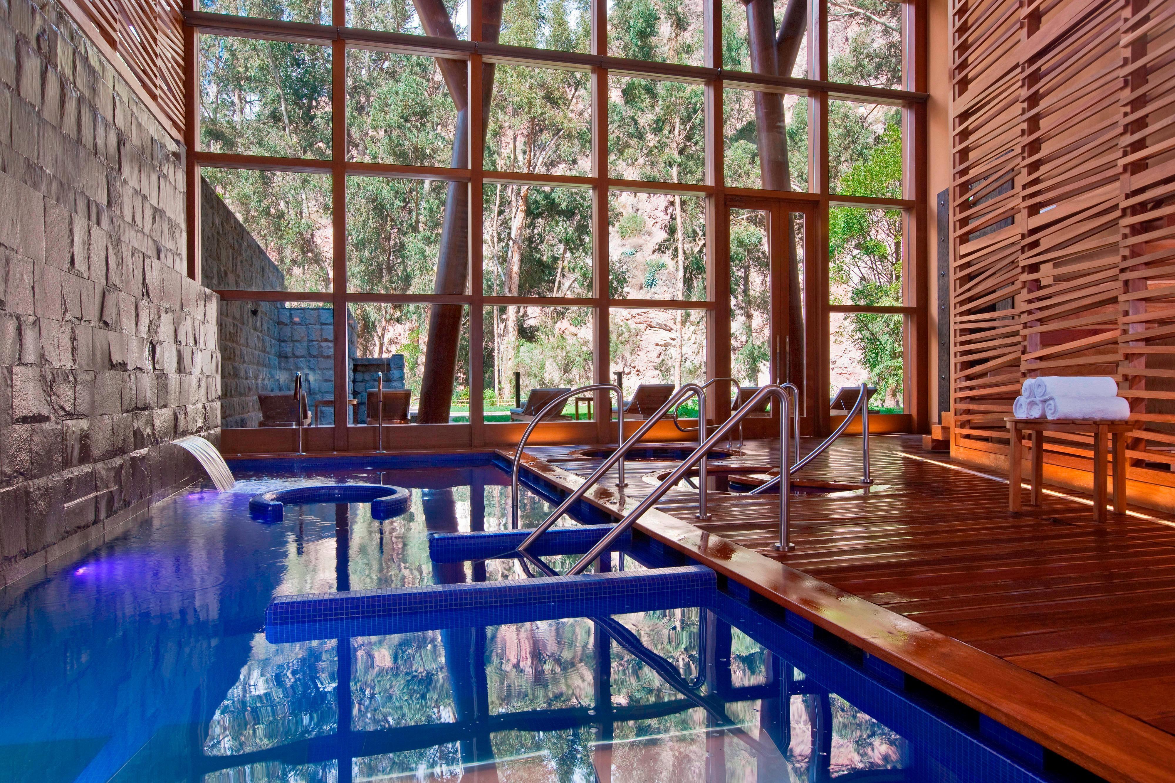 The Spa at Tambo del Inka - water circuit