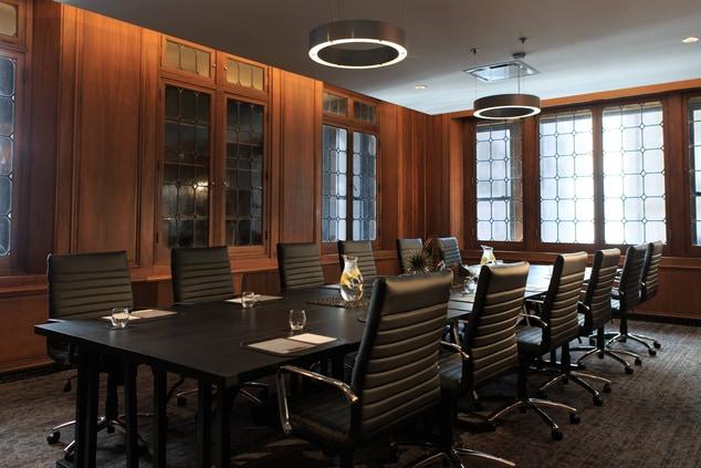 Downtown Cincinnati boardroom