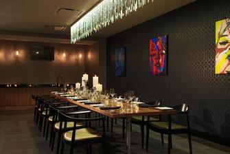 Cincinnati restaurant private dining room