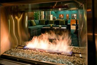 Hearth Room Fireplace