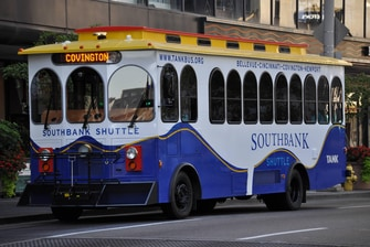 Downtown Cincinnati Trolley Service