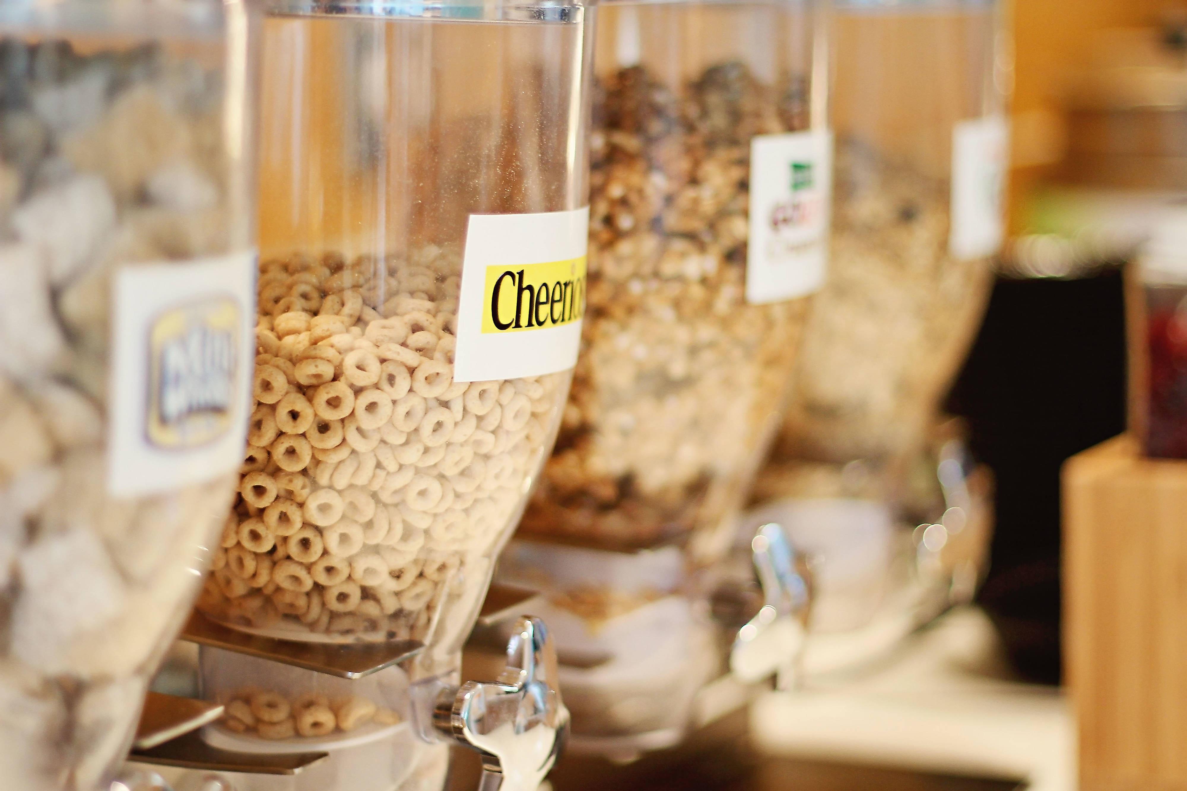 Breakfast Buffet – Cereal Bar