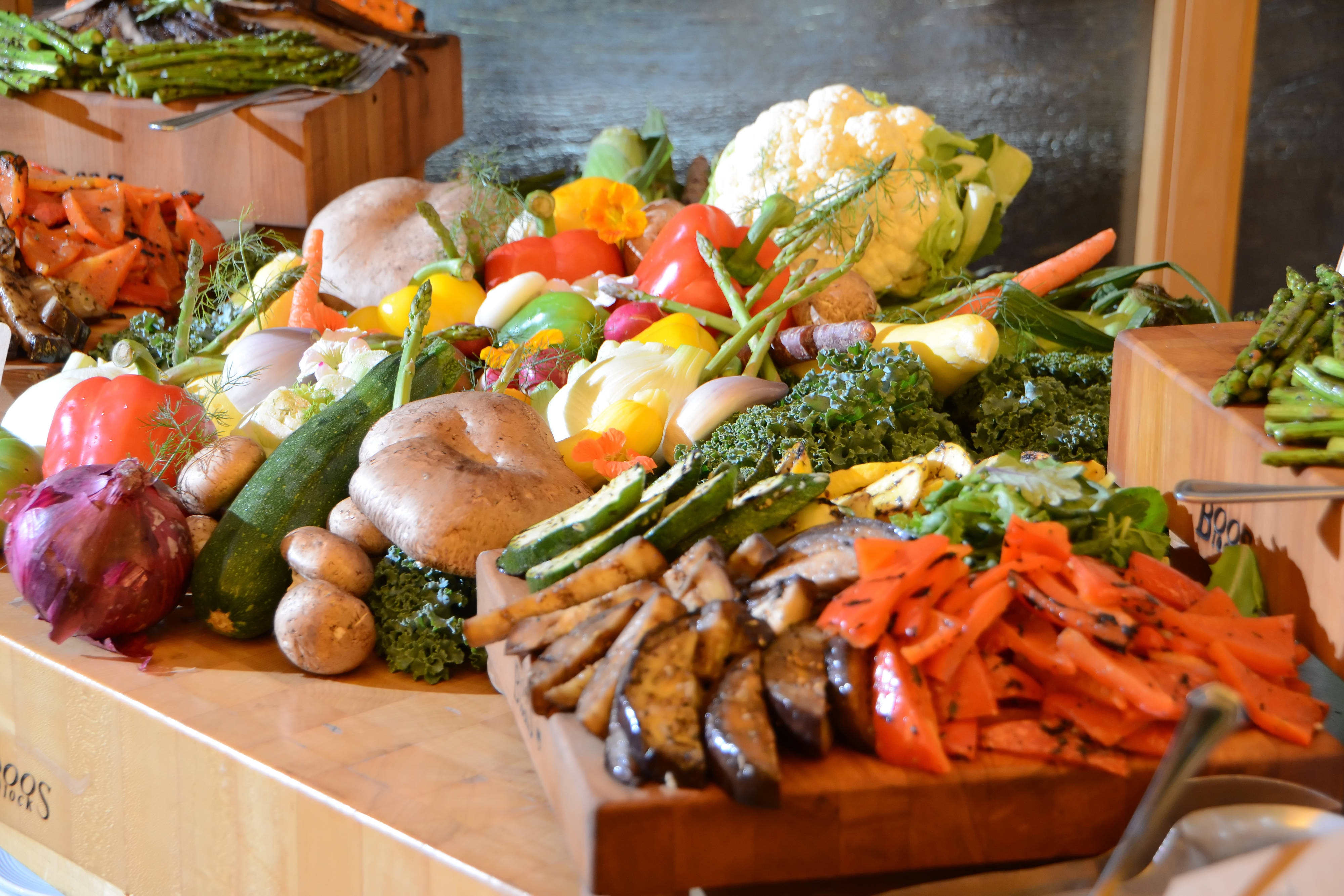 Display Station – Grilled Vegetable Platter
