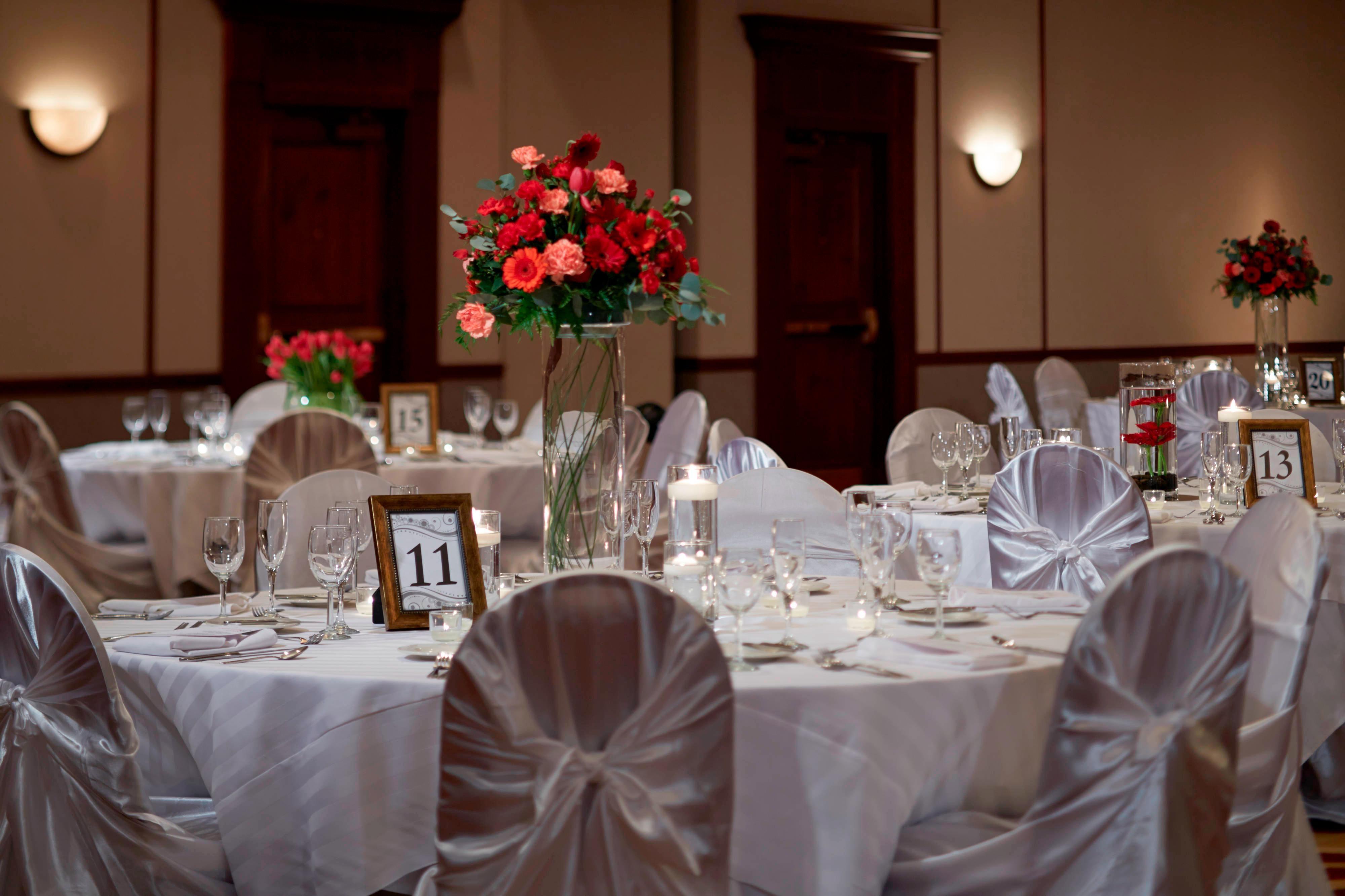 Wedding Setup Details