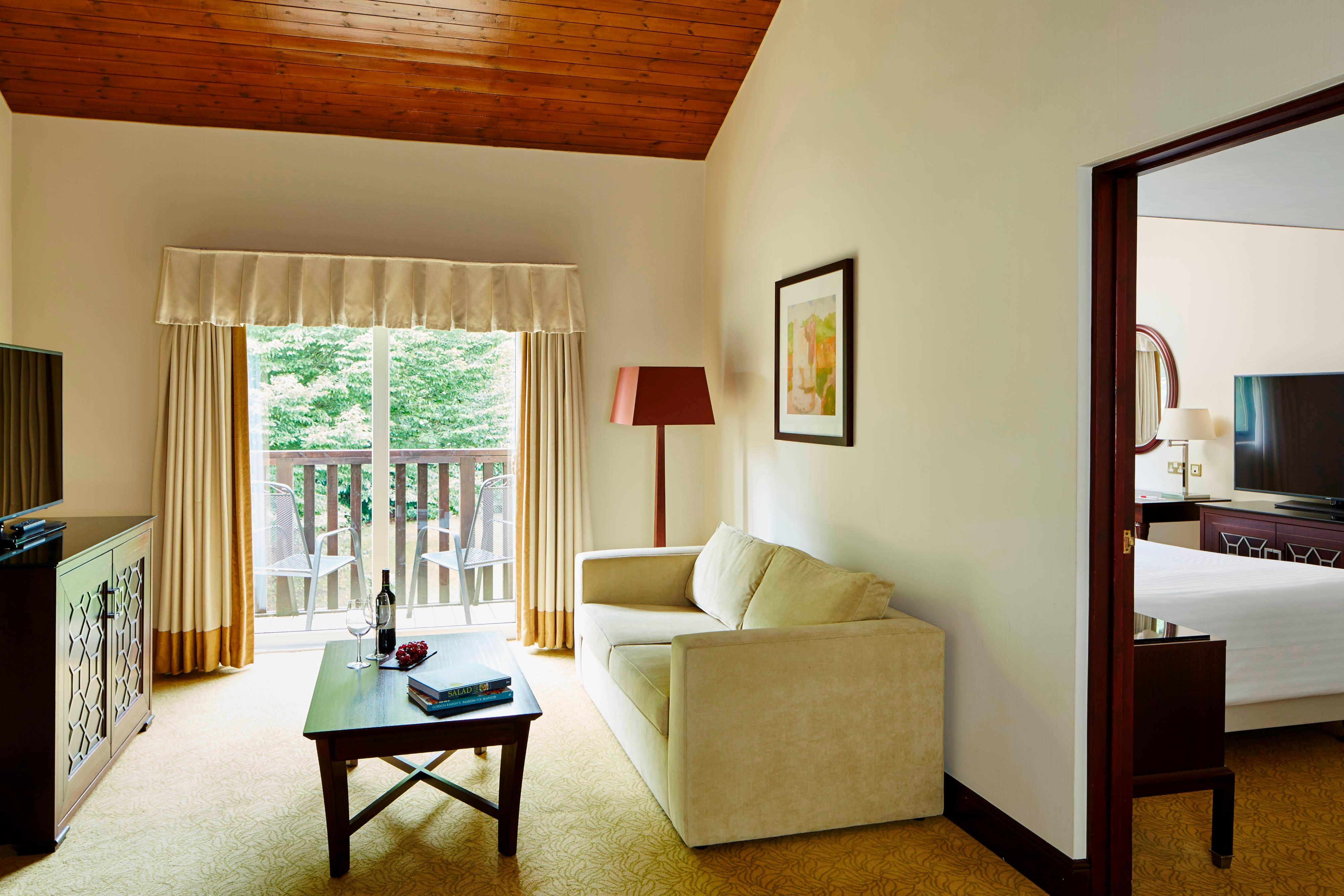 Junior Suite de un dormitorio - Sala de estar