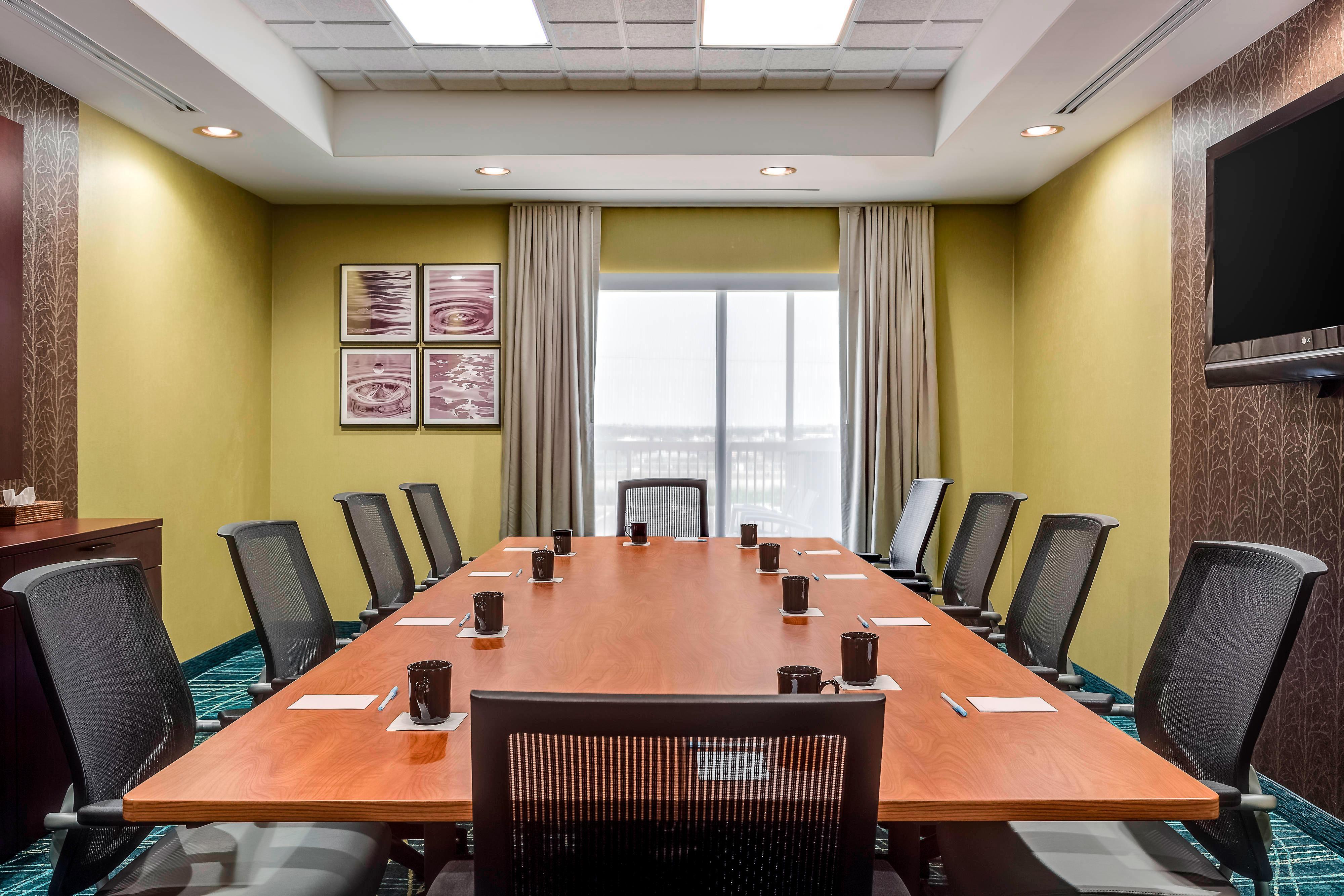 ワイオミング州シャイアンの会議室