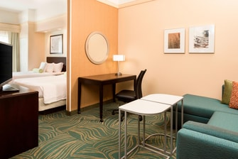 Downtown Cheyenne Wyoming hotel suite