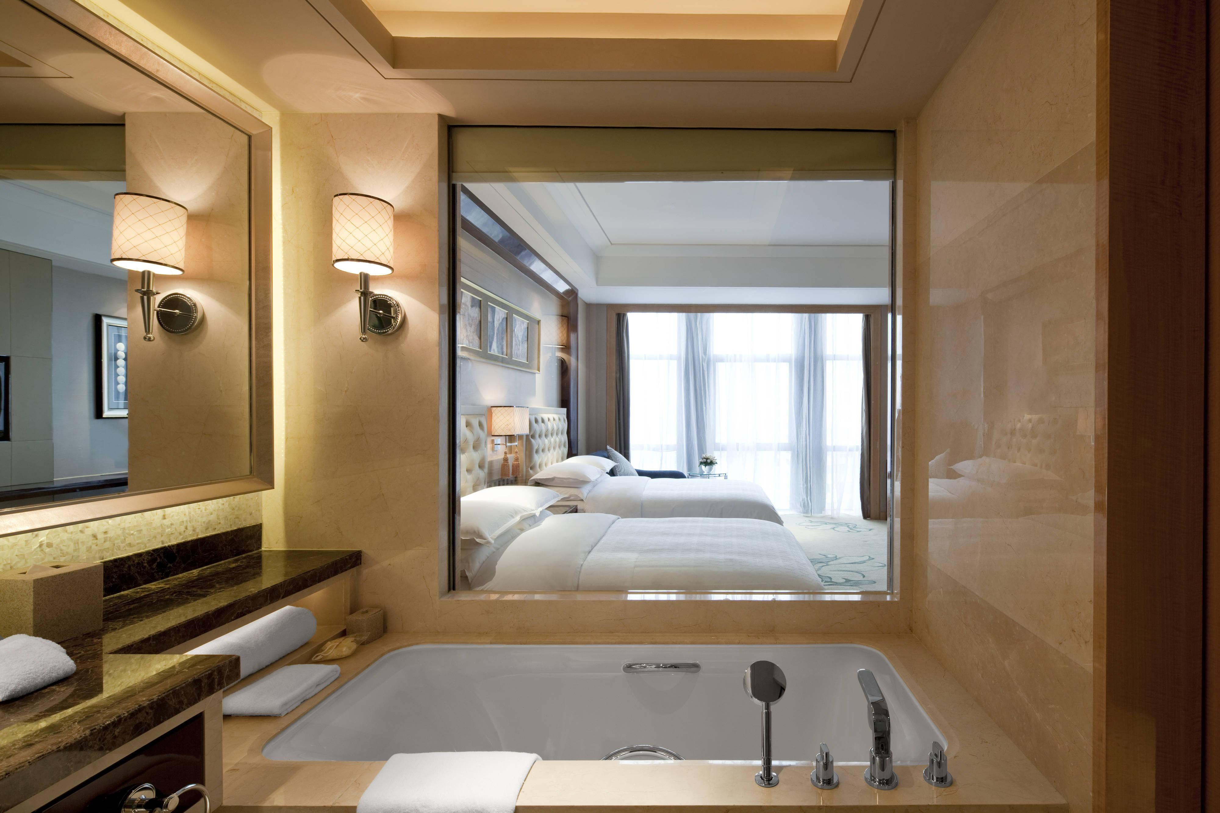 Deluxe Bathroom and Guest Room