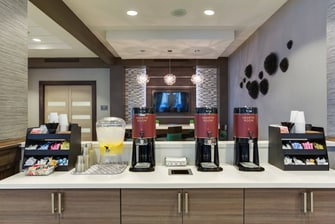 Complimentary Lobby Coffee & Water Station