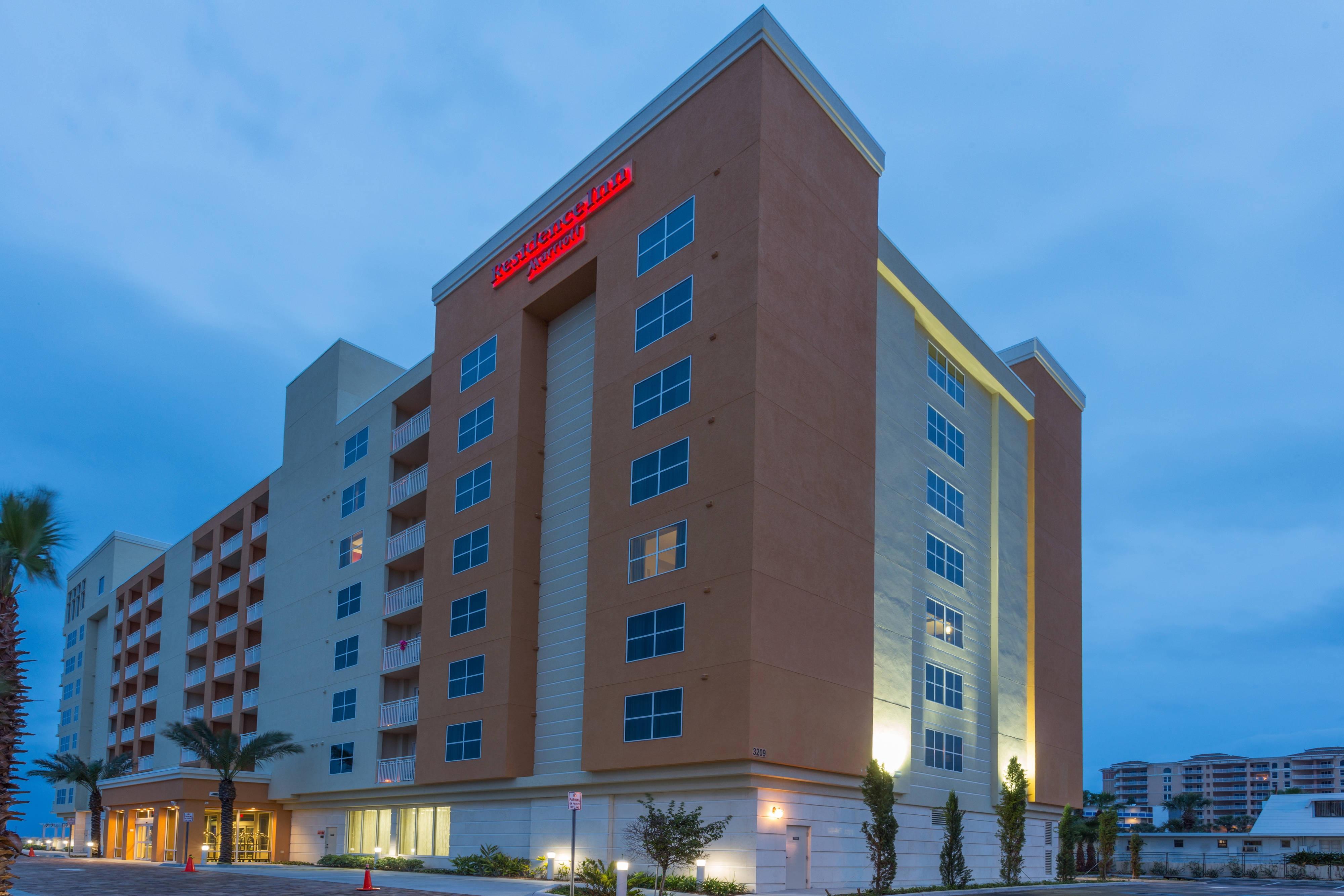 Welcome to the Residence Inn by Marriott Daytona Beach Oceanfront!