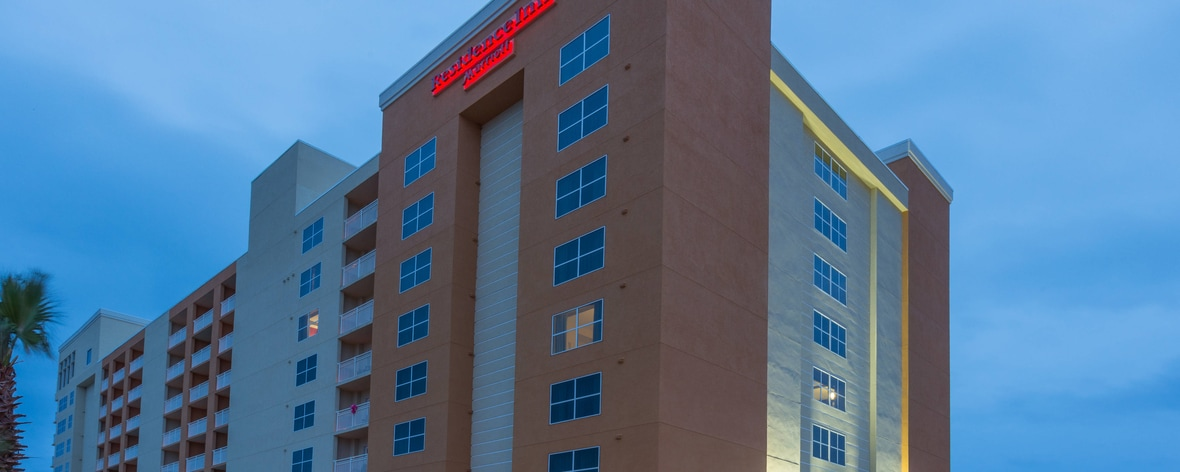 Welcome to the Residence Inn by Marriott Daytona Beach Oceanfront!