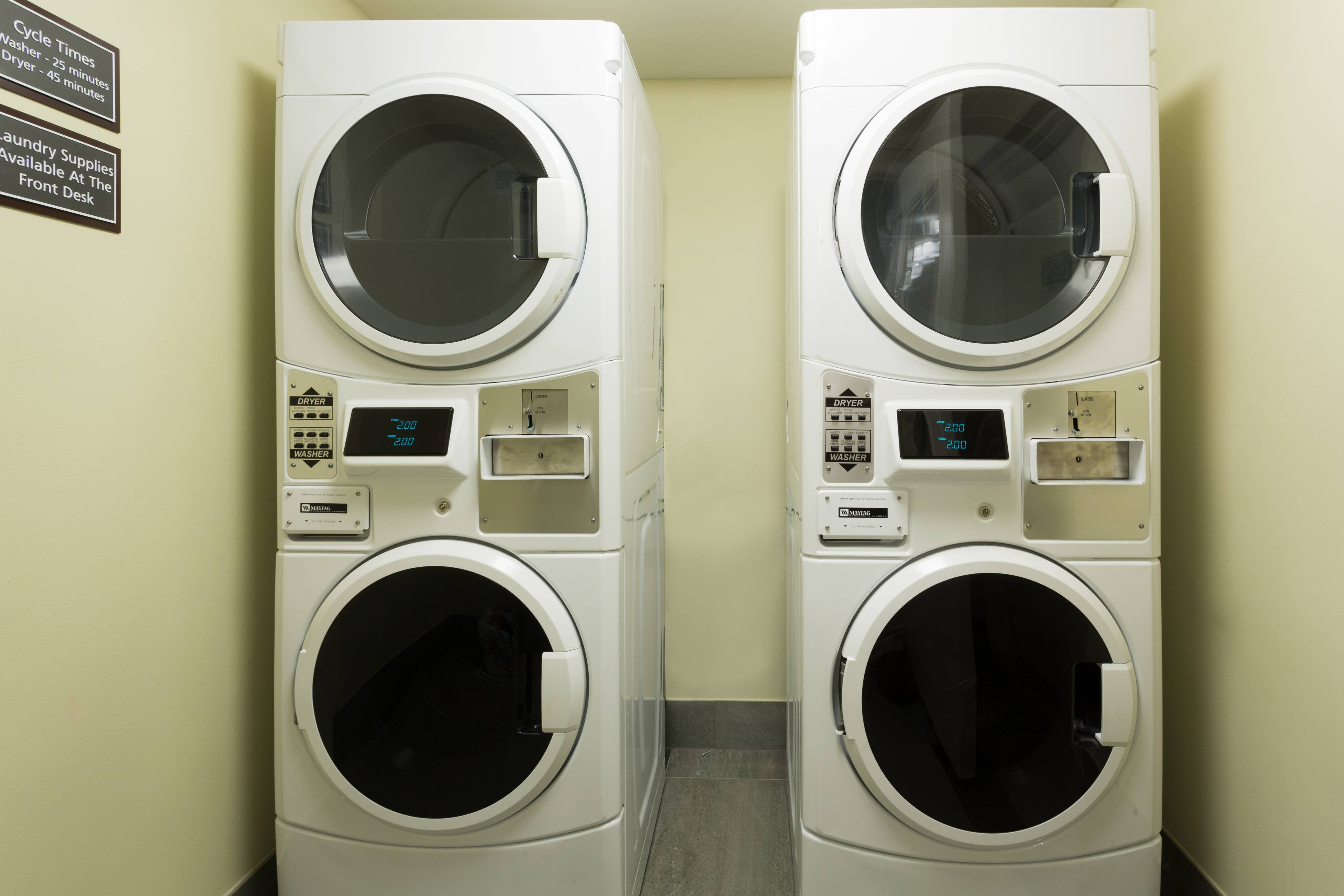 Guest Washer and Dryers