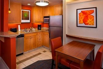 Daytona Speedway Suite Kitchen