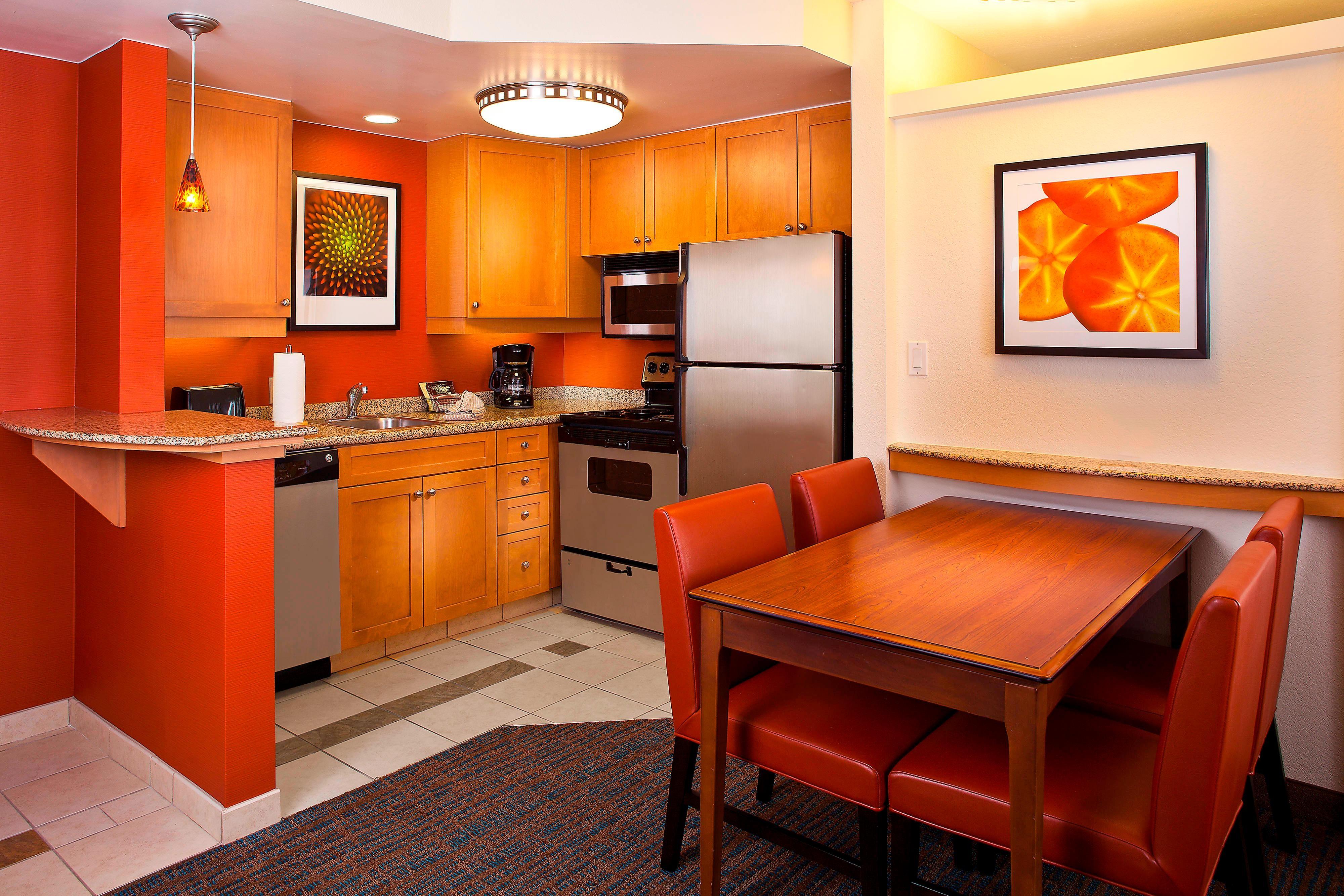 Two-Bedroom Suite Kitchen