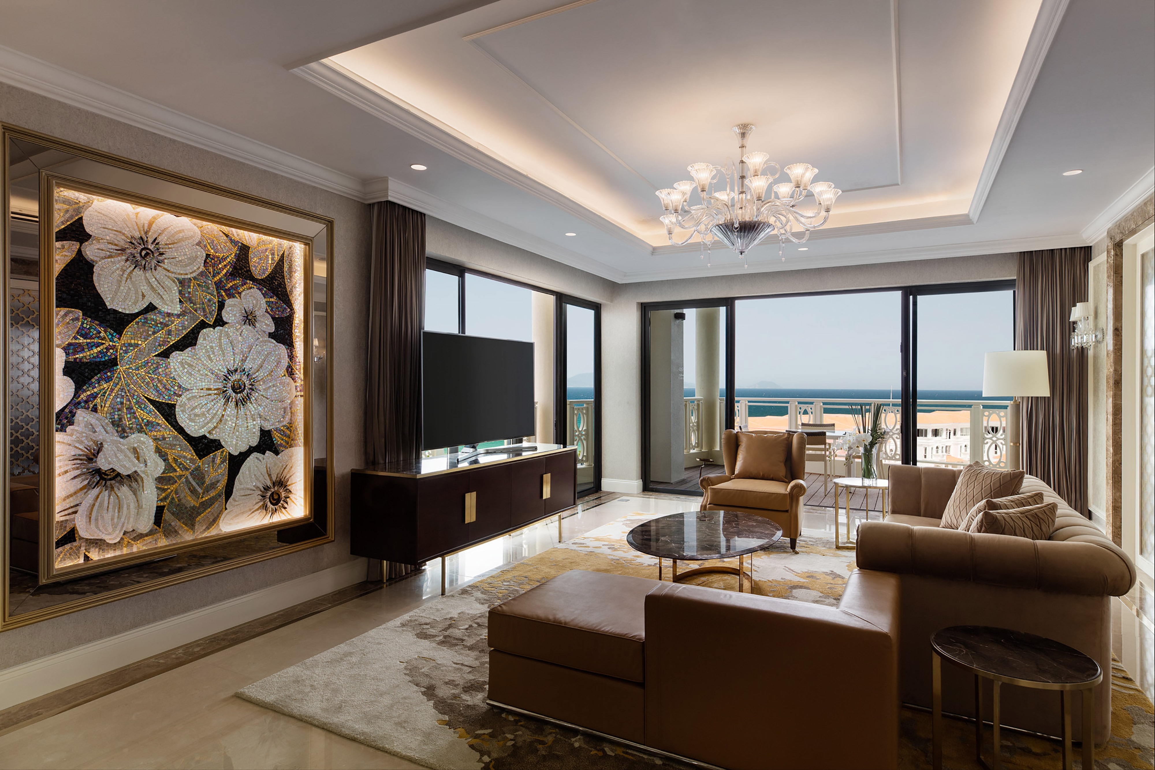 Vice Presidential Suite Living Area