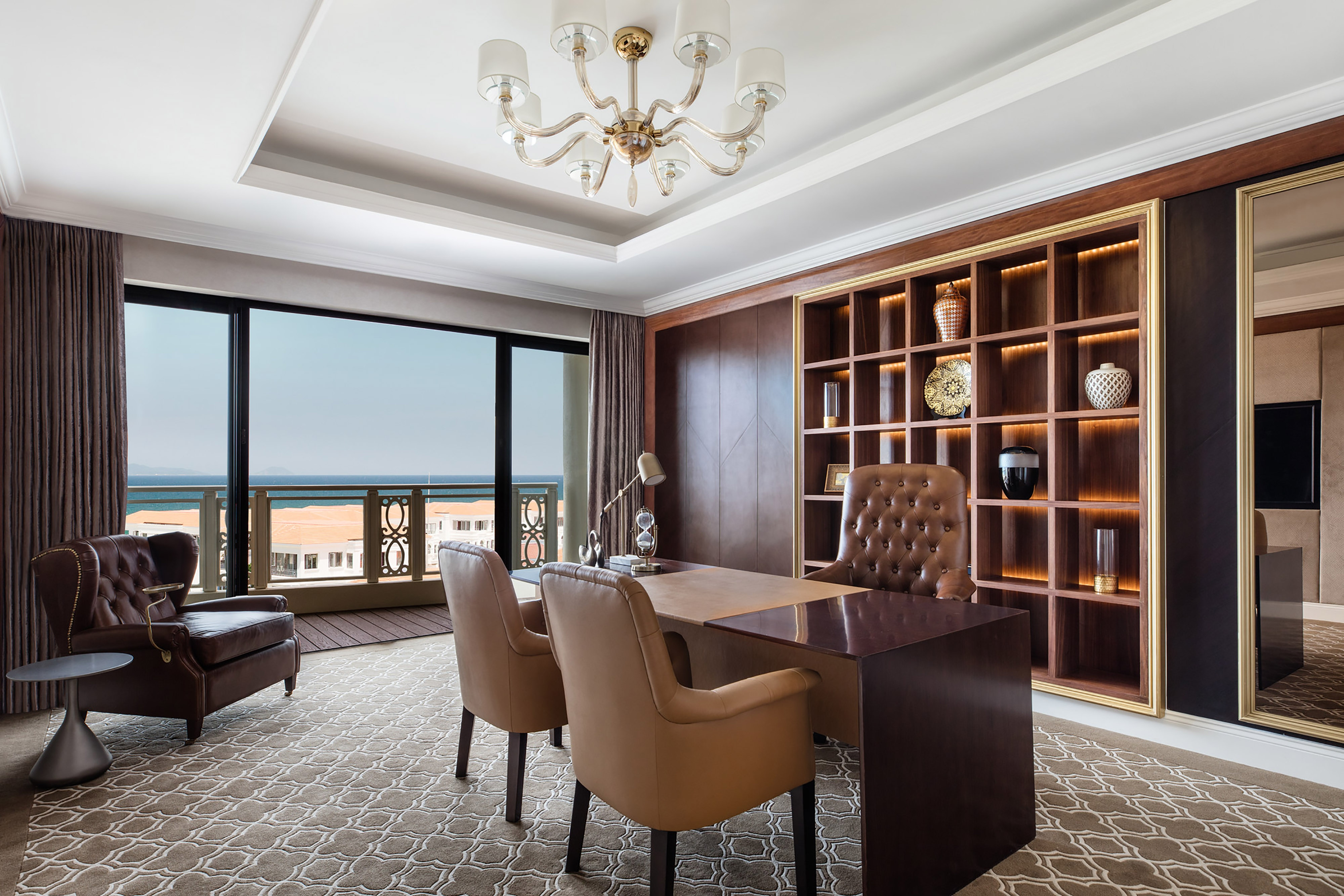 Presidential Suite Reading Room