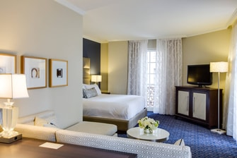 Suite Adolphus Executive con cama tamaño King