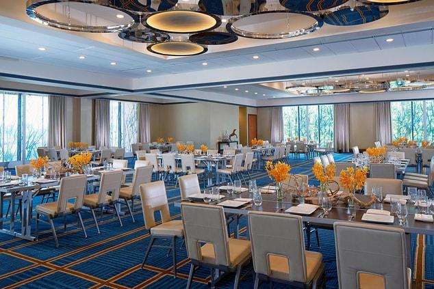 Dallas Luxury Hotel Ballroom