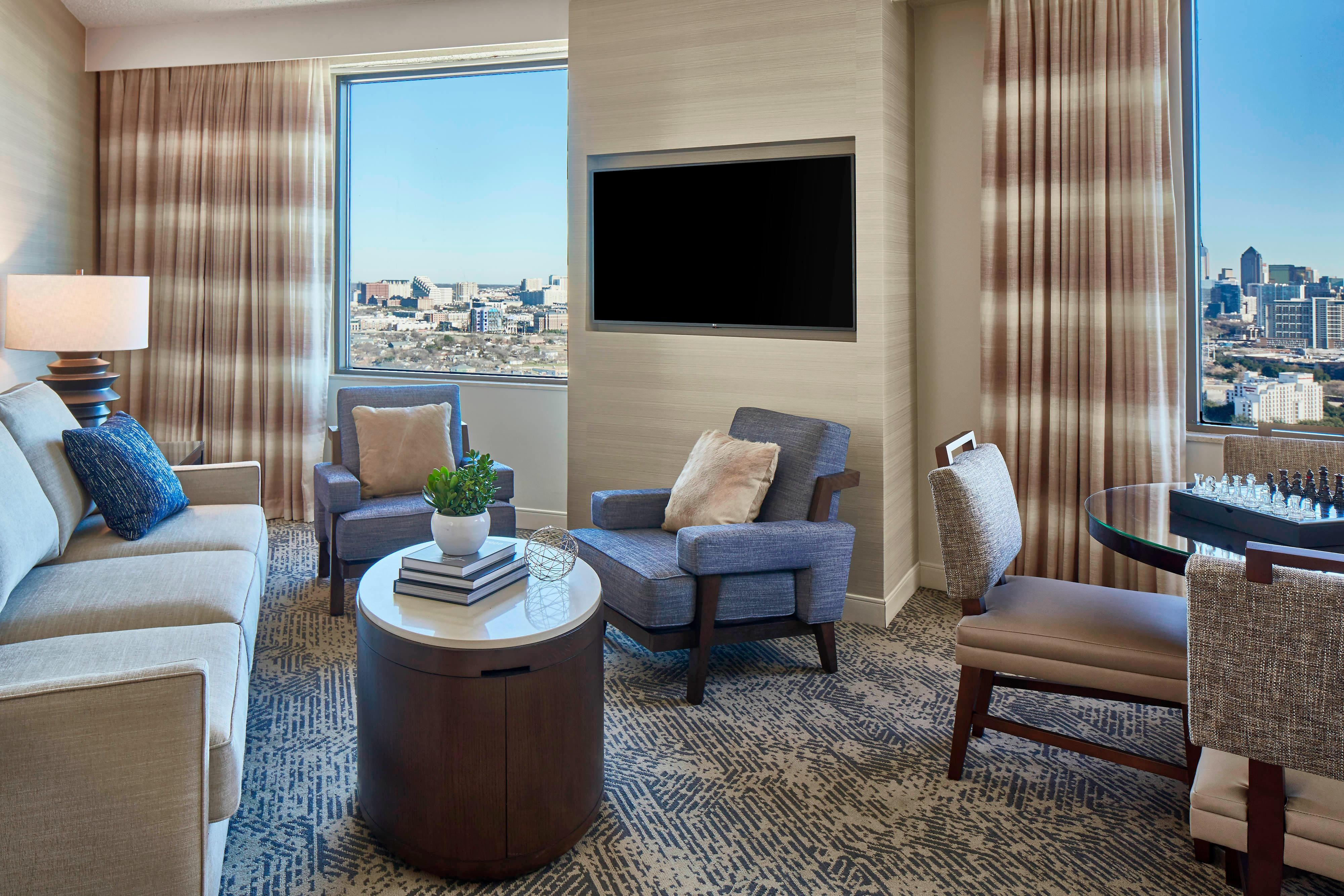 One-Bedroom Executive Suite - Living Area