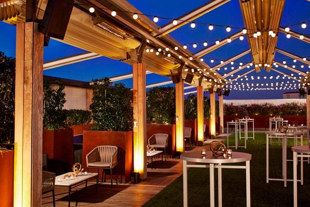Dallas Reception Venue Terrace